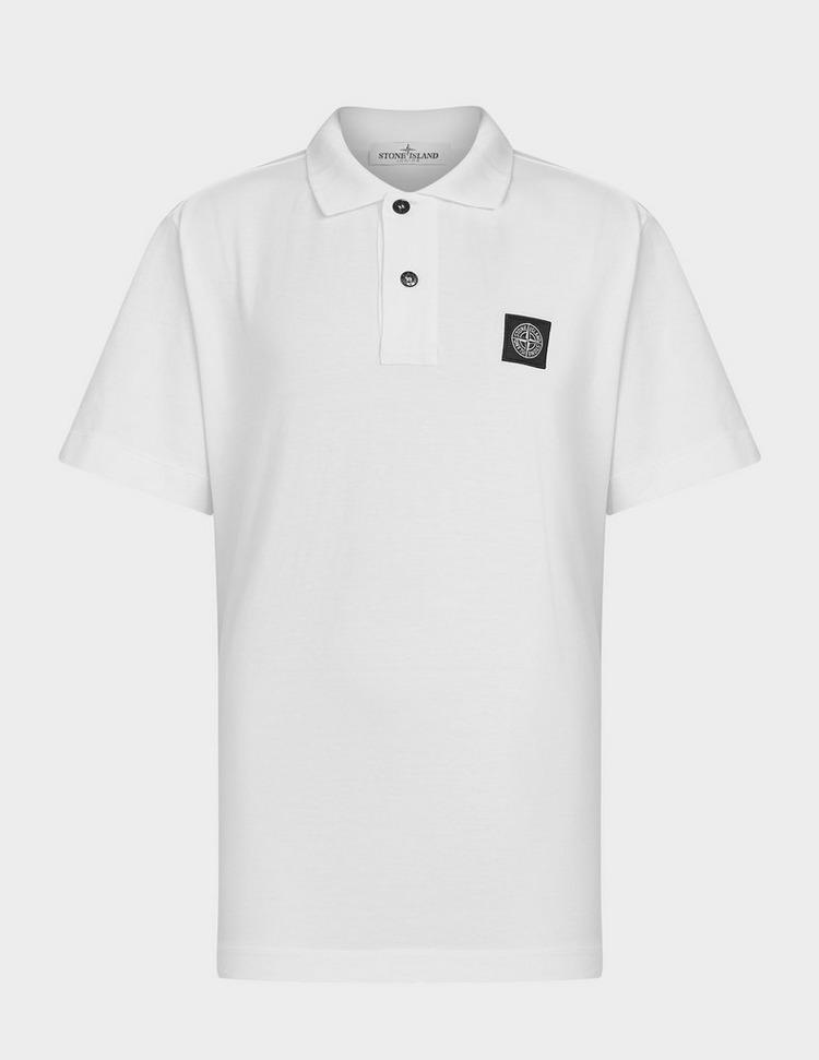 Stone Island Junior Tipped Polo Shirt