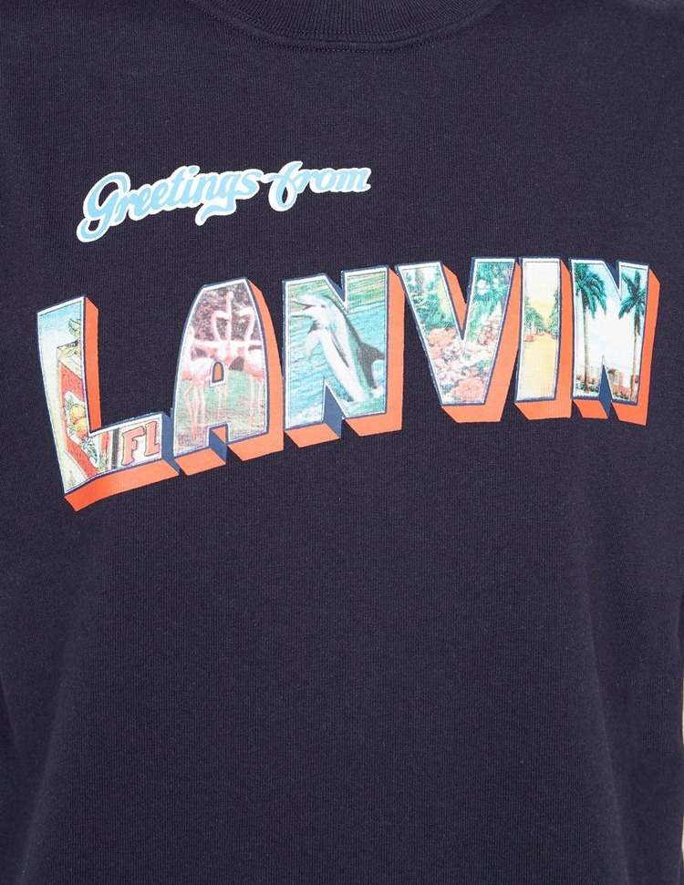 Lanvin Greetings From T-Shirt