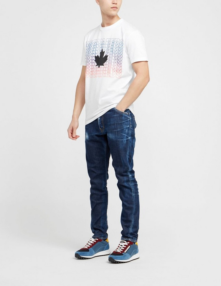 Dsquared2 Multi Logo Maple T-Shirt
