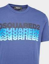 Dsquared2 Repeat Text T-Shirt