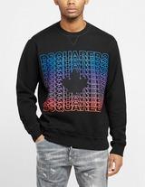 Dsquared2 Multiple Logo Maple Sweatshirt