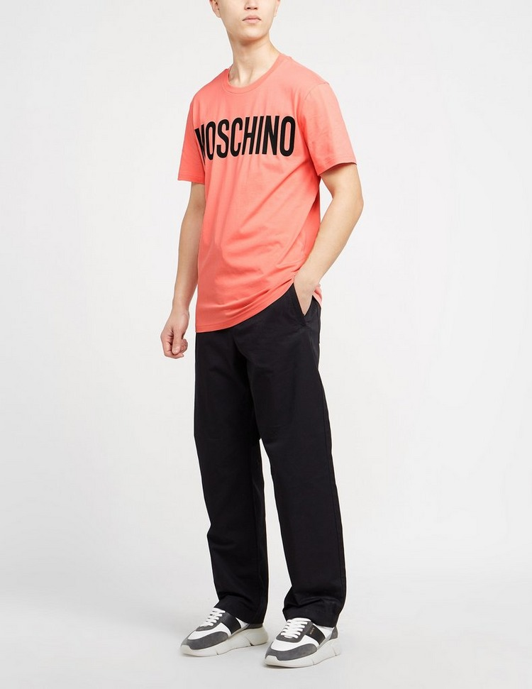 Moschino Logo Short Sleeve T-Shirt