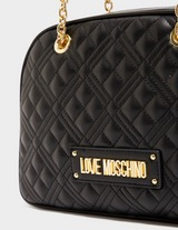 Love Moschino Quilted Dome Bag