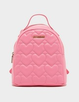 Love Moschino Heart Quilted Backpack