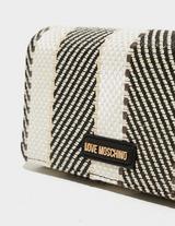 Love Moschino Raffia Cross Body Bag