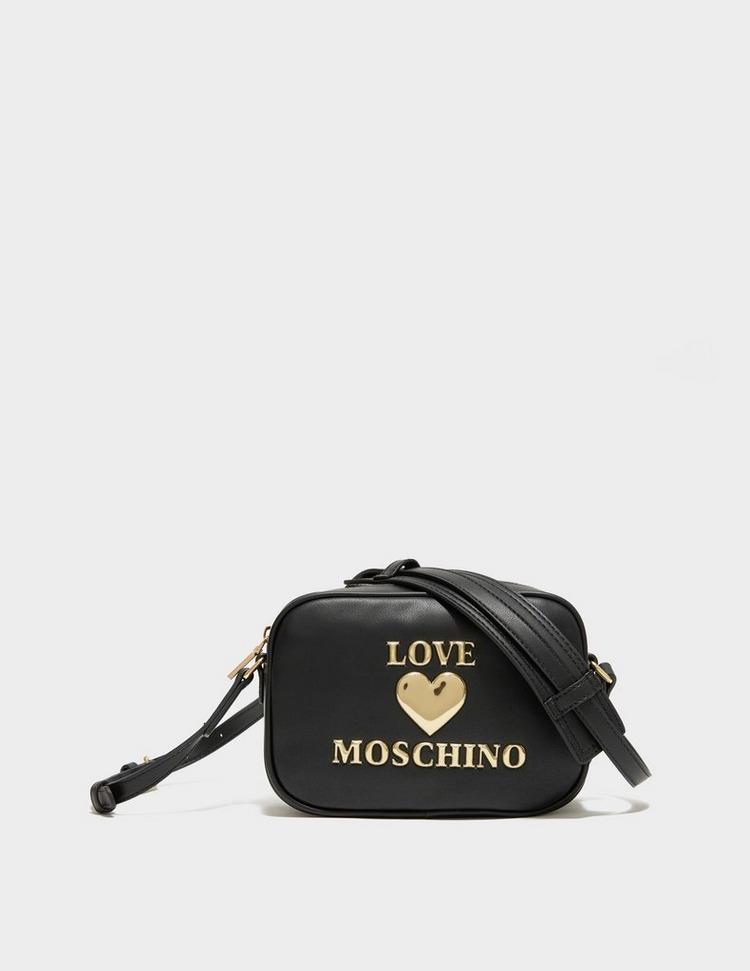 Love Moschino Heart Logo Camera Bag