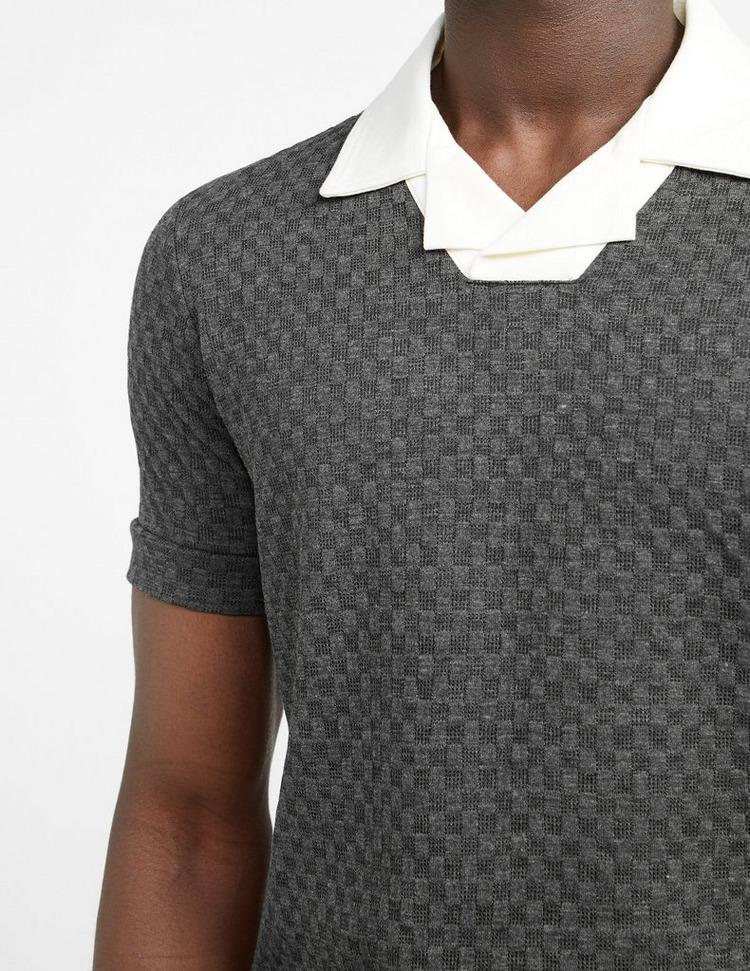 Prevu Studio Solander Waffle Polo Shirt