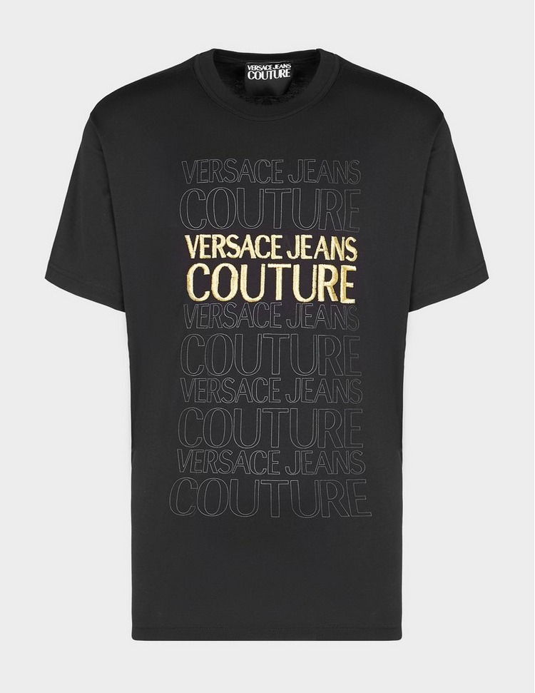 Versace Jeans Couture Stacked Logo T-Shirt