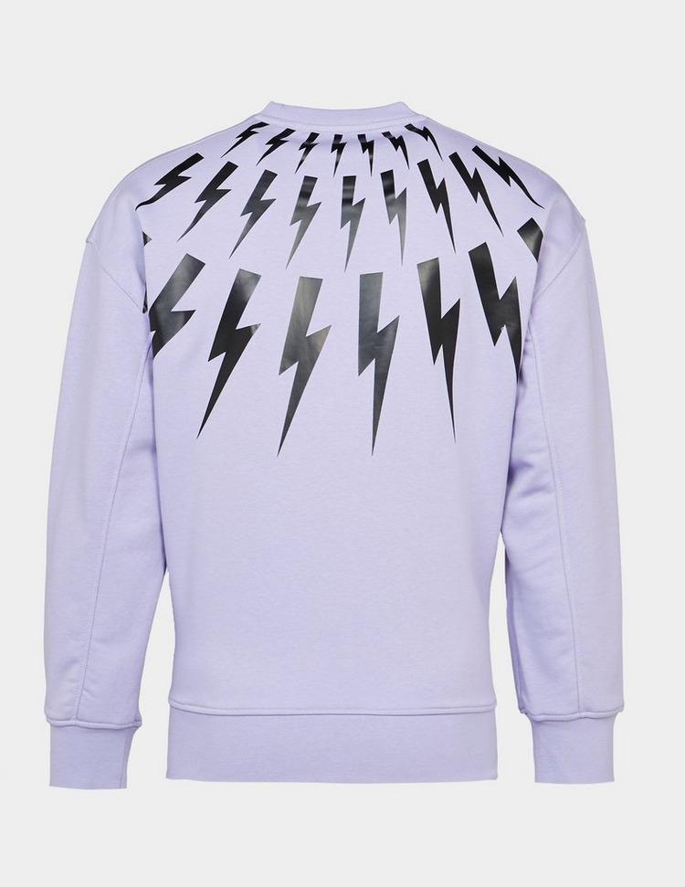 Neil Barrett Bolt Neck Sweatshirt