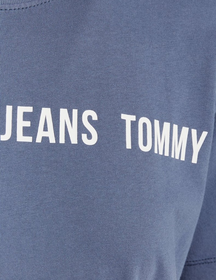 Tommy Jeans Boxy Tape Cropped T-Shirt