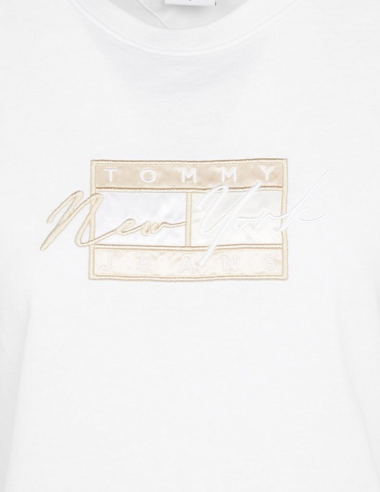 Tommy Jeans Embroidered Flag T-Shirt