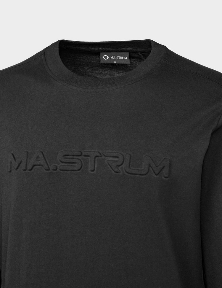 Ma Strum Embossed Logo T-Shirt
