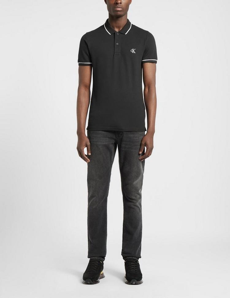 Calvin Klein Jeans Slim Tipped Polo Shirt