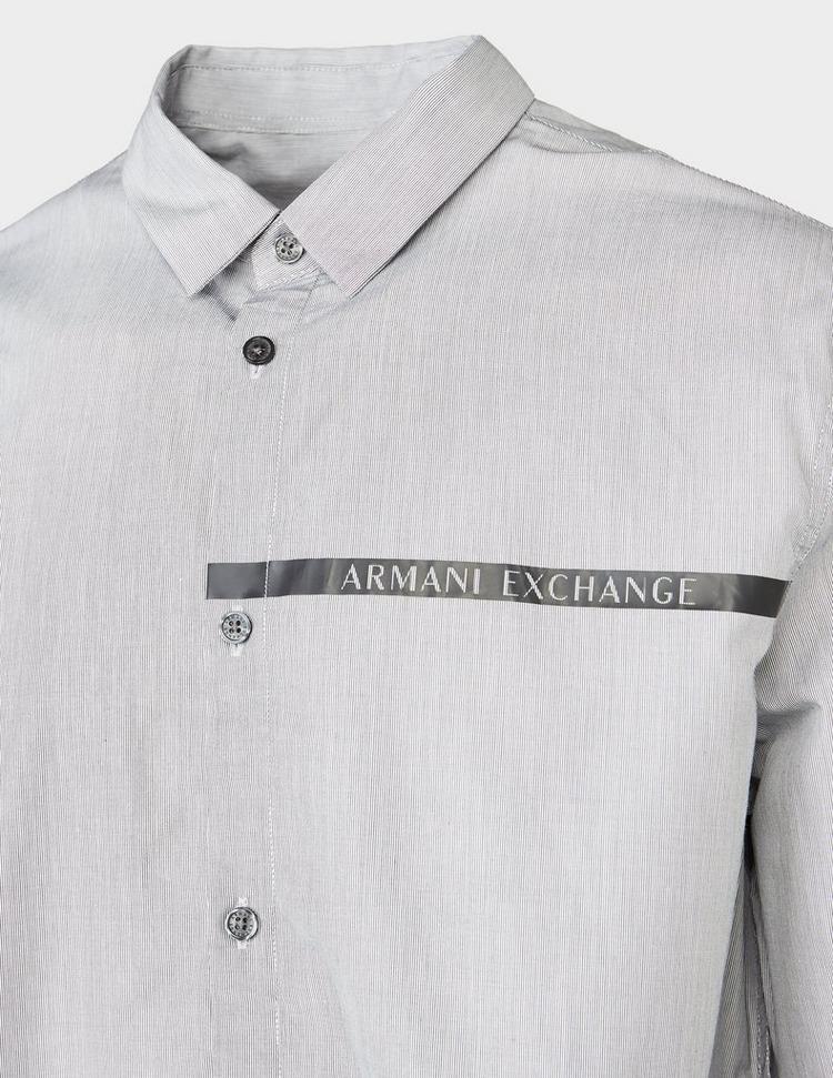 Armani Exchange All Over Laser Logo Shirt
