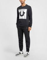 True Religion Foil Square Shoe Sweatshirt