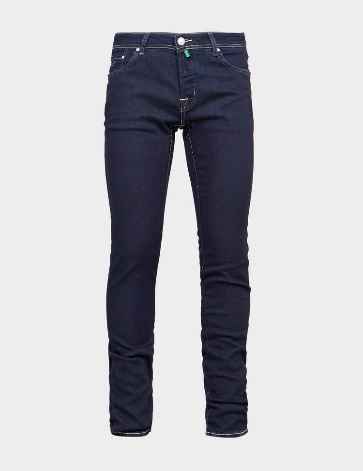 Jacob Cohen Slim Olive Badge Jeans