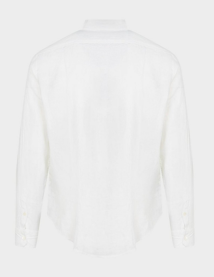 Emporio Armani Tipped Linen Shirt