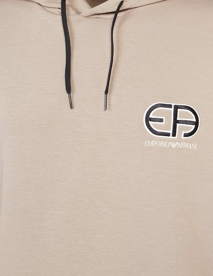 Emporio Armani Heritage Logo Hoodie