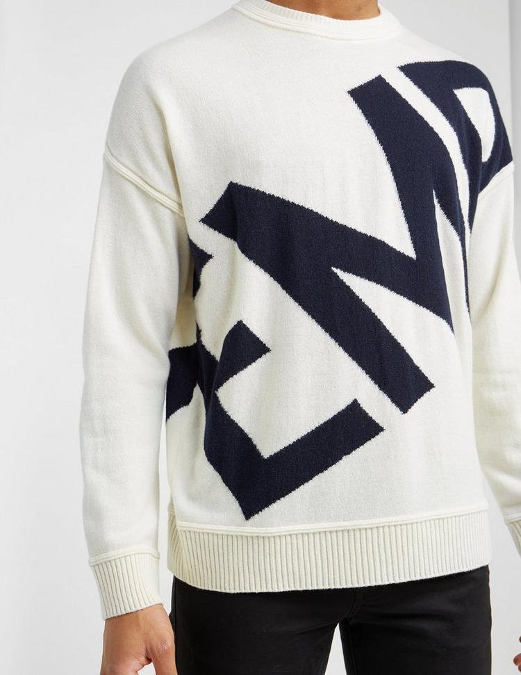 Emporio Armani Arm Knitted Sweatshirt