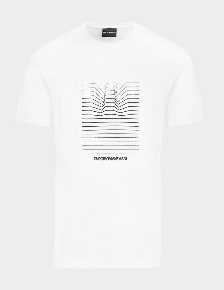 Emporio Armani Stack Eagle T-Shirt