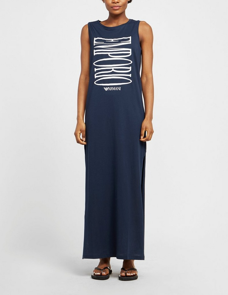 Emporio Armani Loungewear Swim Bold Logo Dress