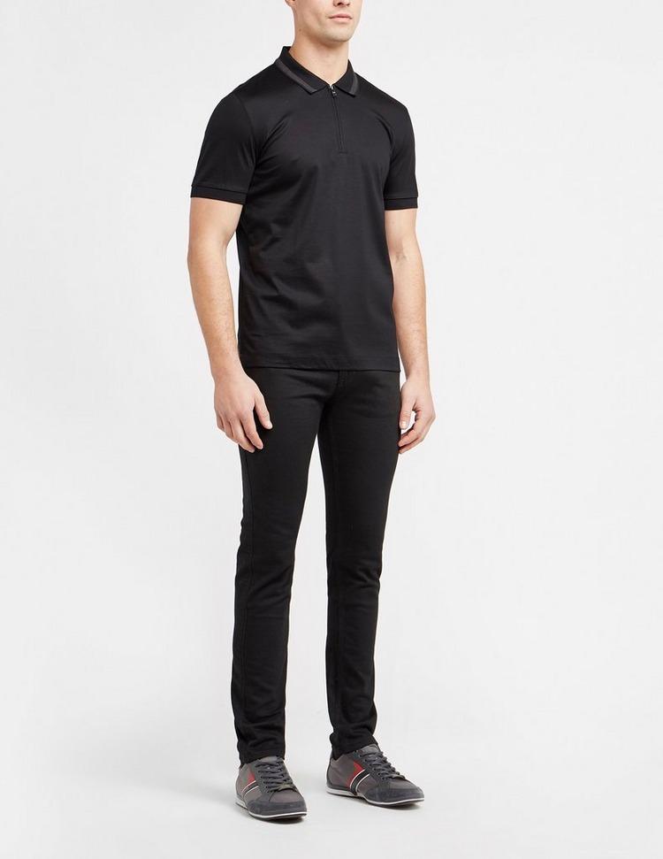 BOSS Plasten Merc Zip Polo Shirt