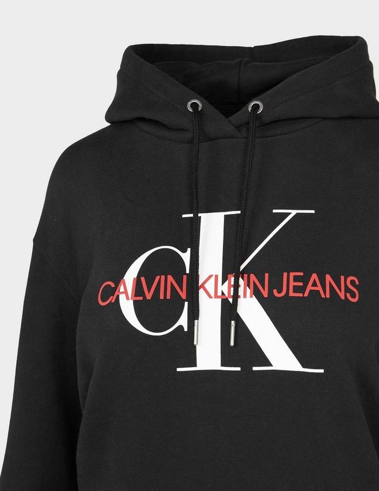 Calvin Klein Jeans Monogram Cropped Hoodie
