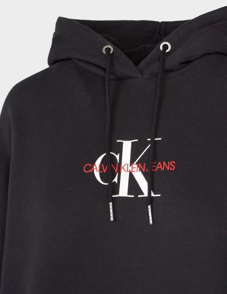 Calvin Klein Jeans Monogram Hoodie Dress