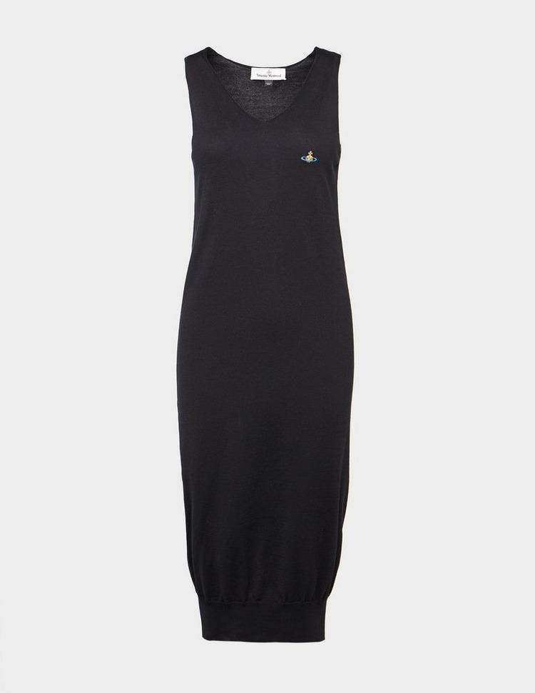 Vivienne Westwood V-Neck Knitted Dress