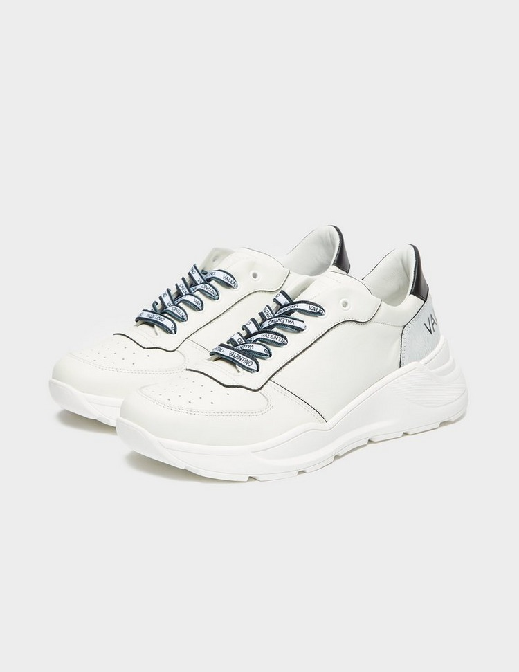 Valentino Shoes Leather Logo Runners