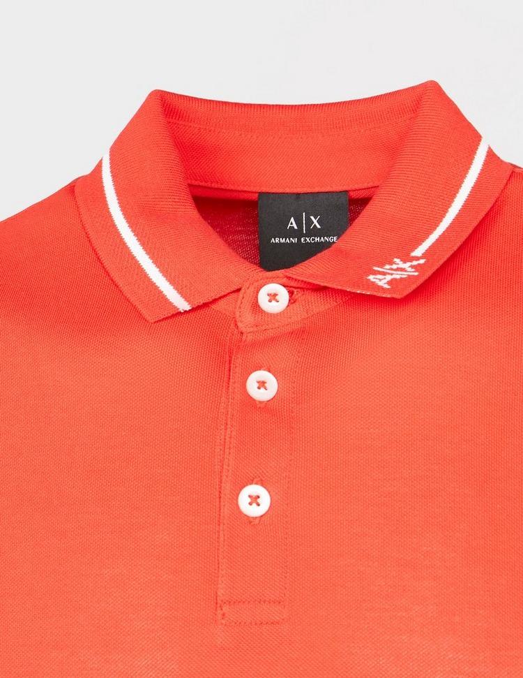 Armani Exchange Collar Logo Polo Shirt