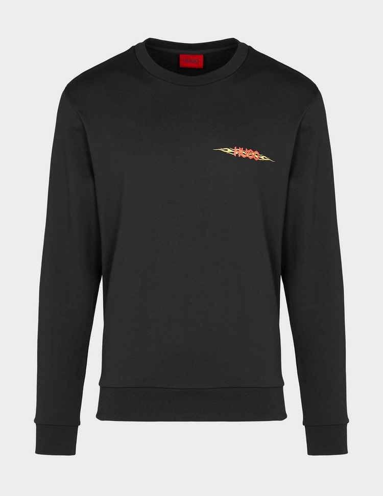 HUGO Flame Logo Sweatshirt