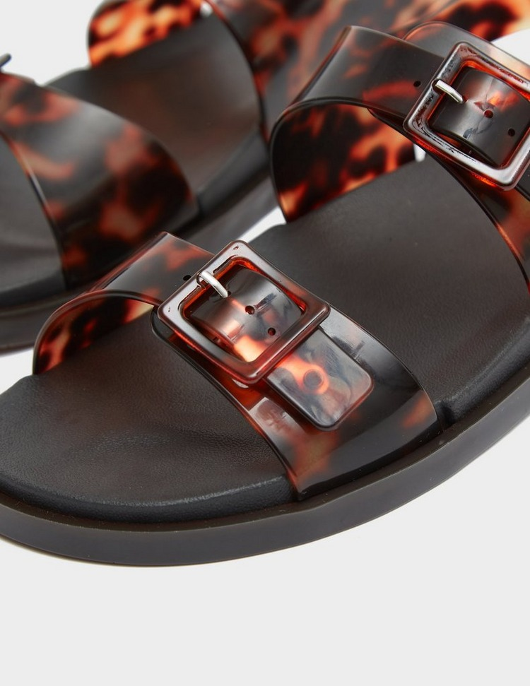 Melissa Wide Tortoise Shell Sandals