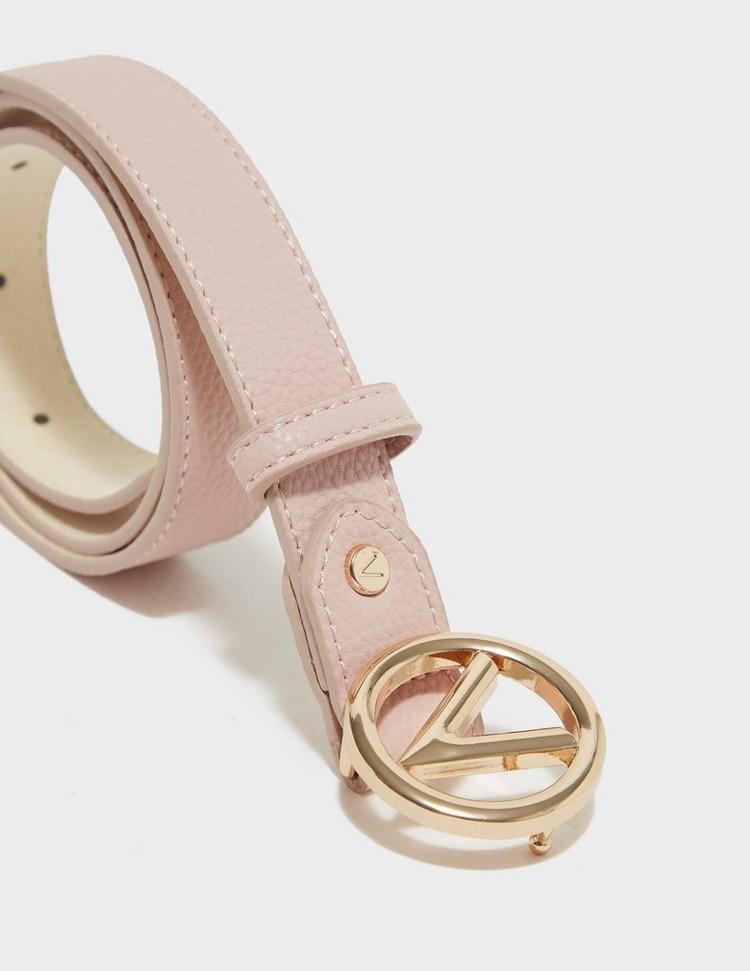 Valentino Bags Round Buckle Belt