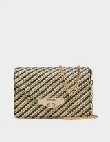 Valentino Bags Amanda Raffia Cross Body Bag