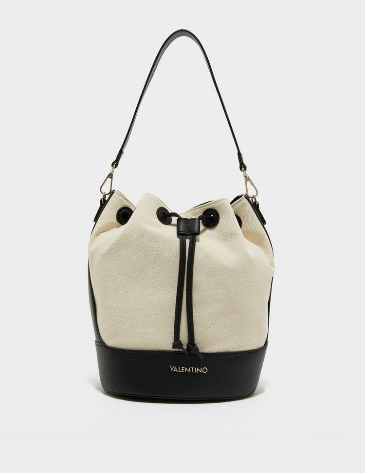Valentino Bags Pamela Canvas Bucket Bag