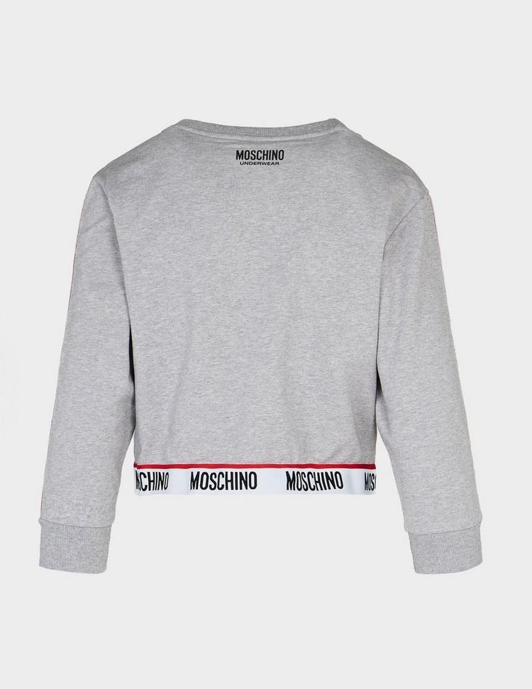 Moschino Tape Crop Sweatshirt