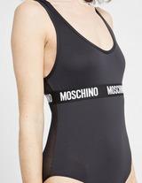 Moschino Mesh Tape Bodysuit