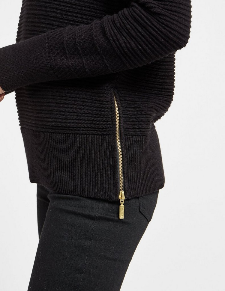 Barbour International Hairpin Knit Jumper