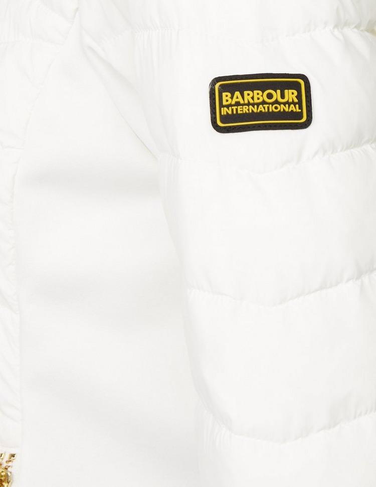 Barbour International Grid Quilted Jacket