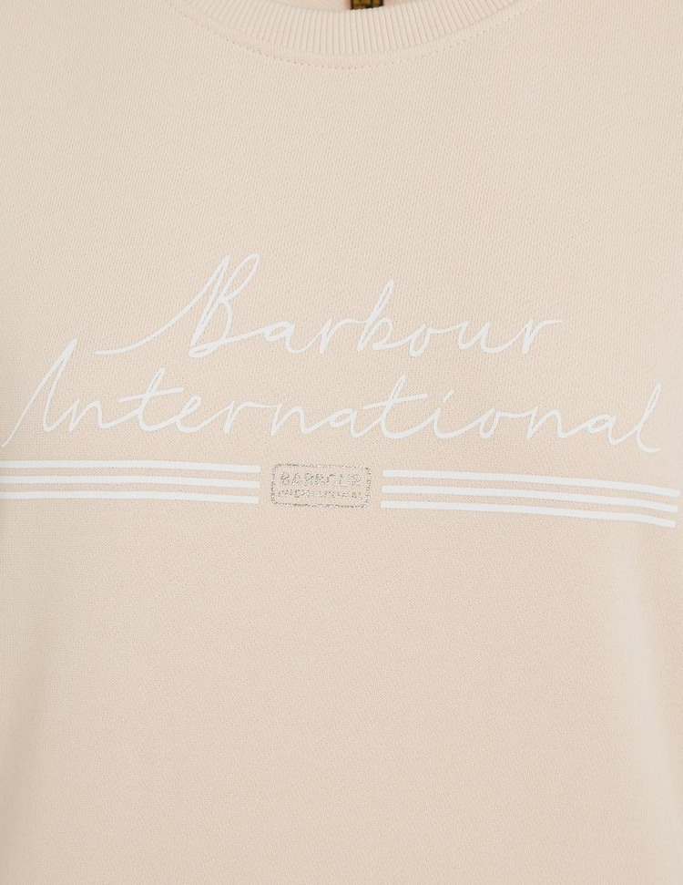 Barbour International Geerbox Overlay Sweatshirt