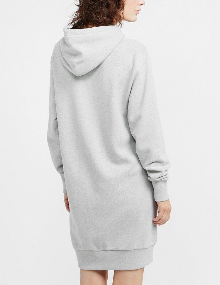 Calvin Klein Underwear Round Logo Hoodie Dress