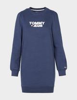 Tommy Jeans Heritage Logo Sweatshirt Dress