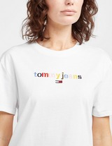 Tommy Jeans Multi-Coloured Logo T-Shirt