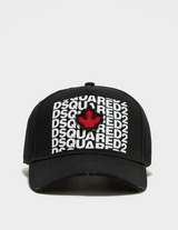 Dsquared2 Text Maple Leaf Cap