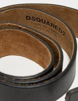 Dsquared2 Half Maple Leaf Buckle Belt