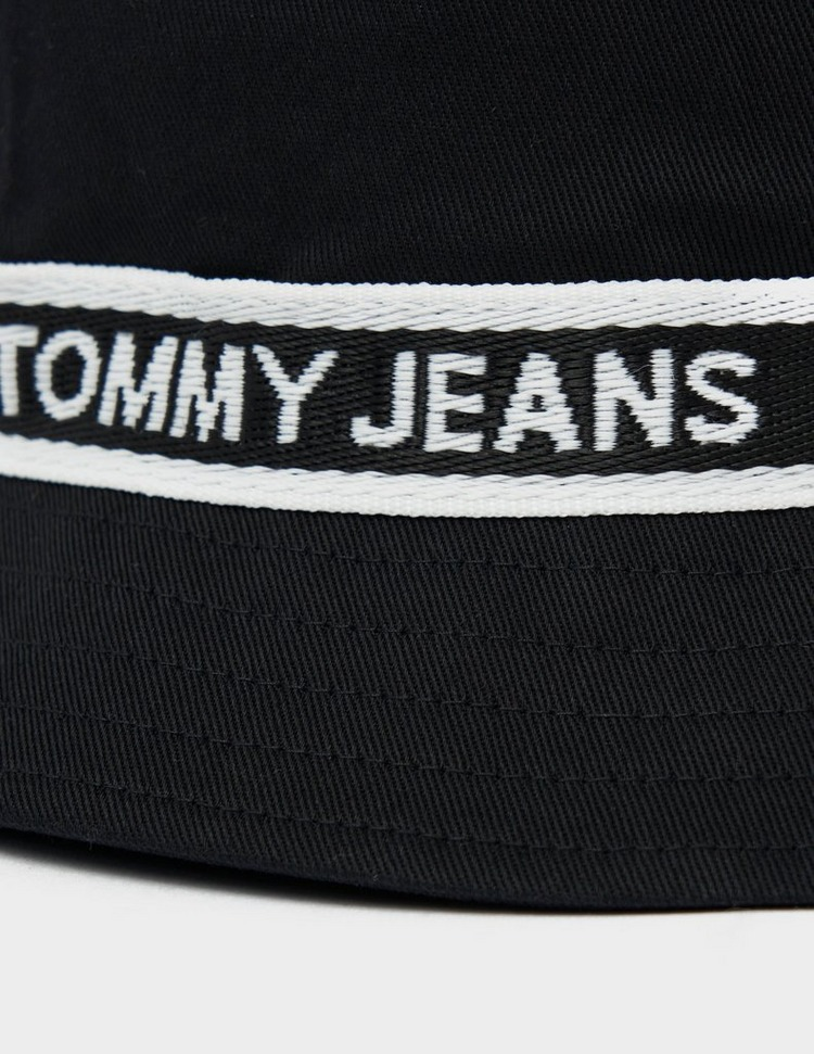 Tommy Jeans Logo Tape Bucket Hat