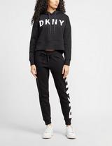 DKNY Explode Logo Cropped Hoodie