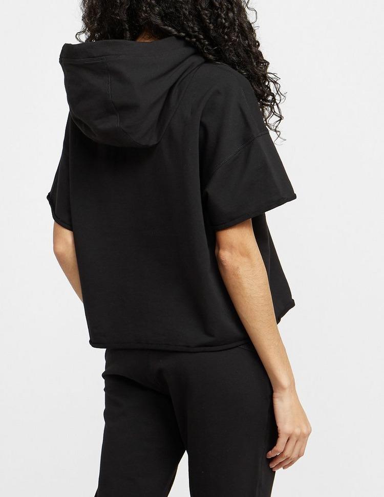 DKNY Drawcord Cropped Hoodie