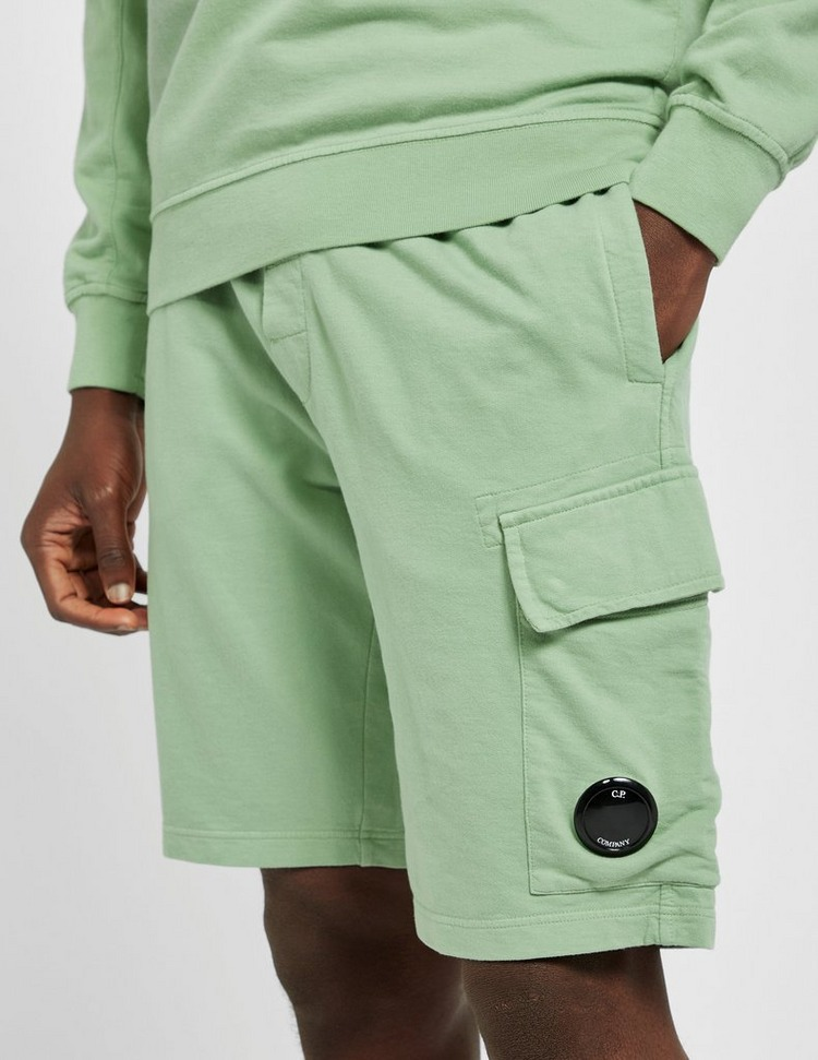 CP Company Lightweight Lens Fleece Shorts